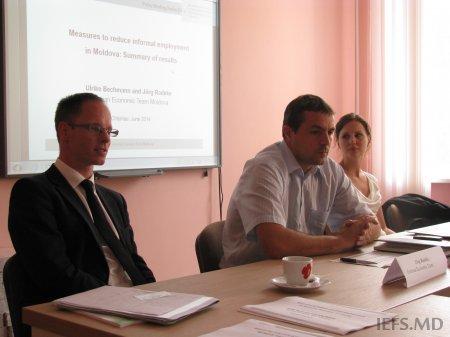 """Prezentarea notei de politici """"Măsuri de reducere a angajării informale în Republica Moldova"""""""