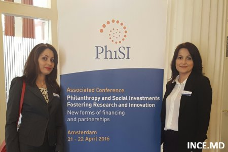 "Participarea colaboratorilor INCE la Conferinţa asociată a UE cu genericul ""Philanthropy and Social Investments Fostering Research and Innovation, New forms of financing and partnerships"""