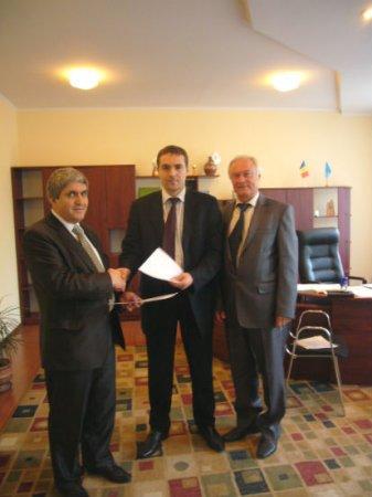 Încheierea acordului de colaborare dintre Academia de transporturi, informatică şi comunicaţii din RM şi Institutul de economie, finanţe şi statistică
