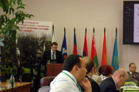 """Participarea la Conferinţa internaţională ştiinţifico-practică cu genericul """"Problemele asigurării securităţii alimentare ale ţărilor membre CSI: aspecte naţionale şi internaţionale"""""""