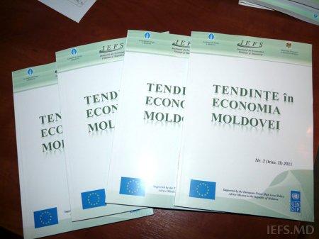 Institutul de Economie, Finanţe şi Statistică (IEFS) a lansat ediţia a doua a publicaţiei trimestriale de analiză economică