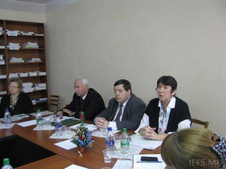 """Masa rotundă """"Dezvoltarea dialogului între ÎMM şi organele administraţiei publice"""""""