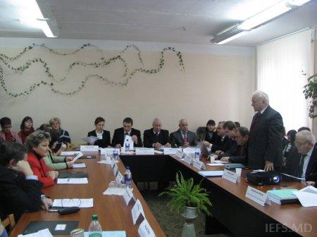 Şedinţa extinsă a Consiliului Ştiinţific al IEFS din data de 22 decembrie, 2011
