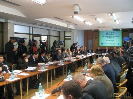 """Lansarea celui de-al treilea număr al publicaţiei """"Tendinţe în Economia Moldovei"""""""