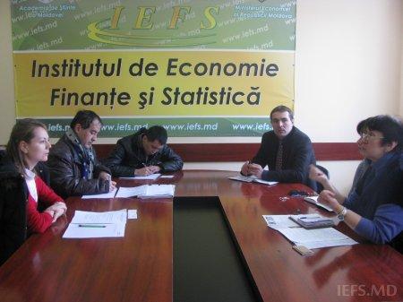 Vizita experţilor niponi la IEFS