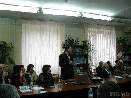 Şedinţa extinsă a Consiliului Ştiinţific al INCE