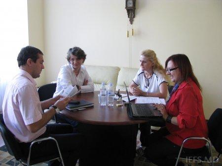 """Vizita delegaţiei ruse la INCE în cadrul Proiectului EUinDepth   """"European identity, cultural diversity and political change"""""""