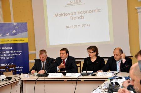 """Lansarea celei de a 14-a ediţii a publicaţiei """"Tendinţe în Economia Moldovei"""""""