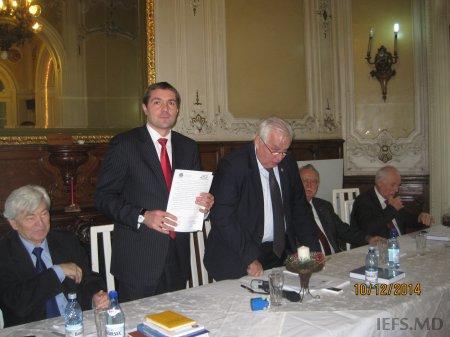 Vizita Directorului INCE, Dlui Alexandru Stratan la Institutul de Economie Agrară din Bucureşti