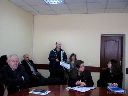 Organizarea consultărilor la INCE în vederea elaborării Strategiei Naţionale de dezvoltare a Sistemului Statistic Naţional al Republicii Moldova 20015-2020