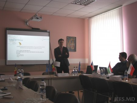 "Lansarea proiectului ""AGRIBUSINESS ASSOCIATION MODEL IN V4 COUNTRIES: A NEW PERSPECTIVE FOR MOLDOVA COMPETITIVENESS"""