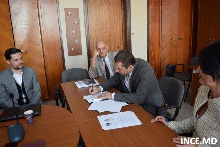 Vizita delegaţiei Institutului Naţional de Cercetări Economice  la  Institutul de Economie Agrară şi Institutul de Economie Mondială ale Academiei Române