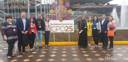 Participarea INCE la Summit-ul de la Nairobi privind ICPD25